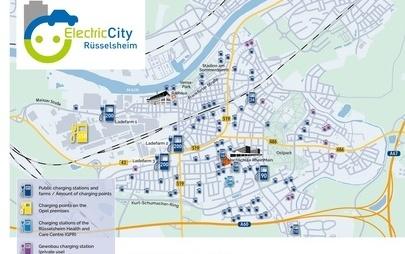 Oplov rojstni kraj bo postal 'električno mesto': Rüsselsheim bo imel največjo koncentracijo polnilnih postaj v Evropski uniji
