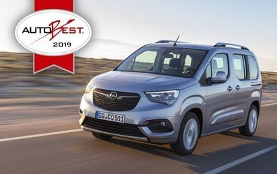 "AUTOBEST: Opel Combo Life je ""Best Buy Car of Europe 2019"""