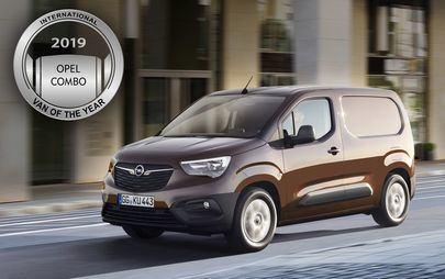 Novi Opel Combo je Mednarodni dostavnik leta 2019 (IVOTY 2019)