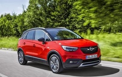 """Opel Crossland X je zmagovalec Euro NCAP """"Best in Class 2017"""""""