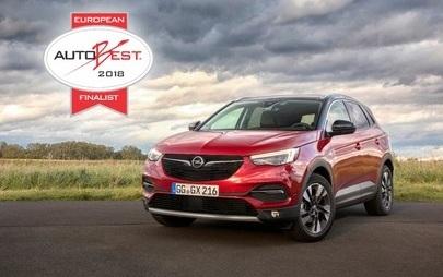 Novi Opel Grandland X med finalno šesterico AUTOBEST 2018